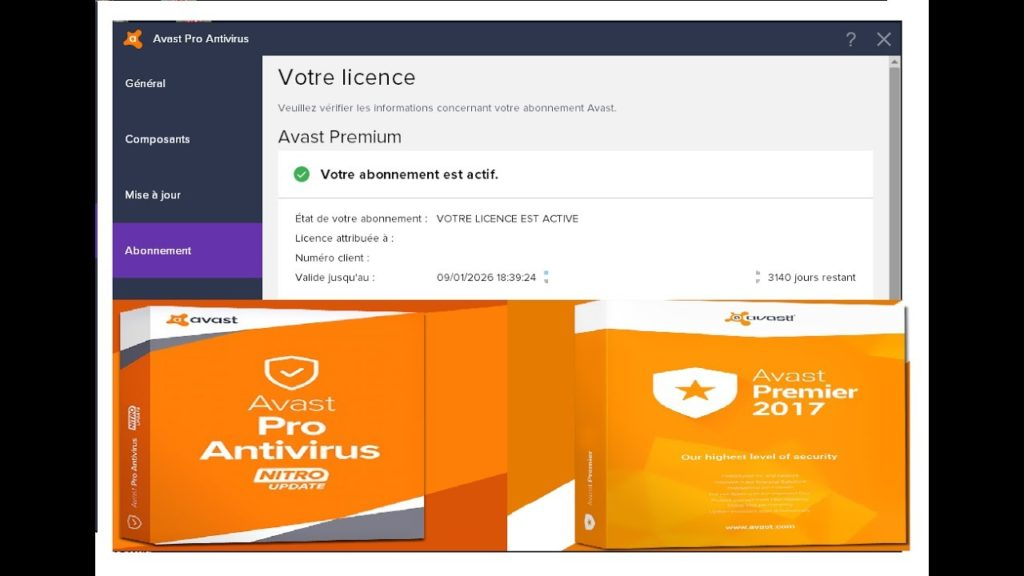 avast premier activation key 2018
