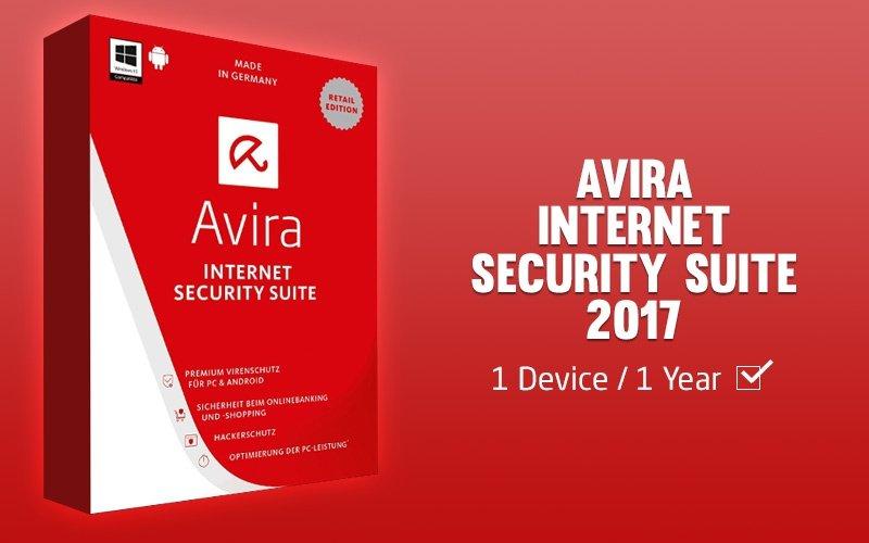 Avira Internet Security 2017 License Key