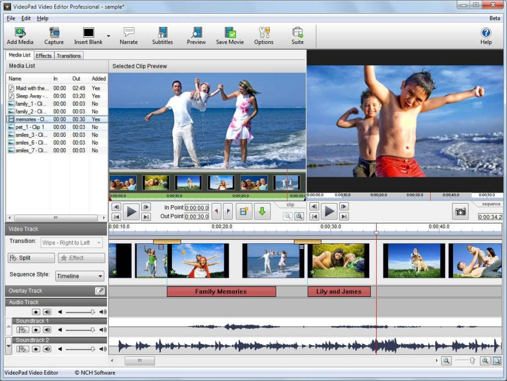 VideoPad Video Editor Code