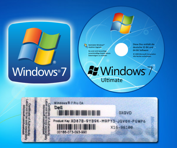 windows 7 pro 64 bit license key