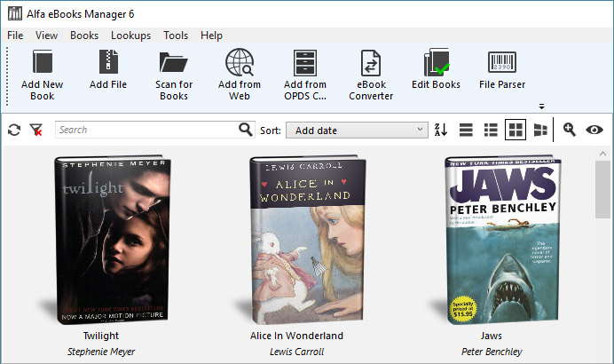 Alfa eBooks Manager Pro Full Version