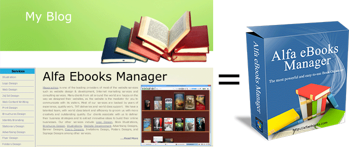 Alfa eBooks Manager serial key