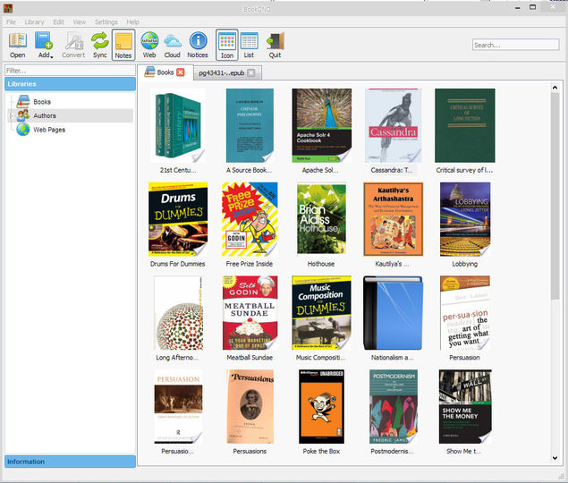 Alfa eBooks Manager Pro Full free download
