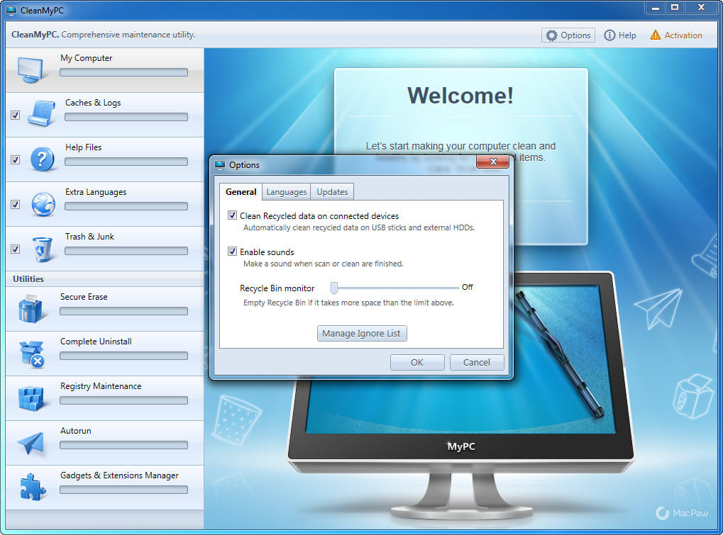 cleanmypc activation code 2017 free