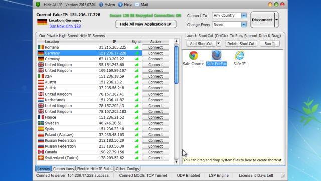 Hide ALL IP Registration Code