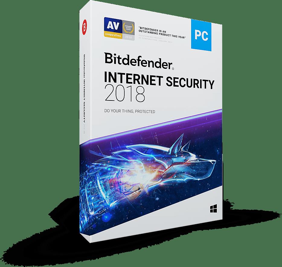 Bitdefender Internet Security 2018 Full Version