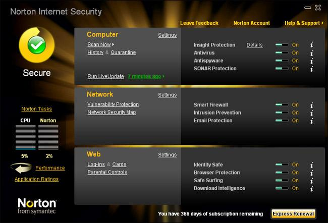 download norton internet security 2018 with crack