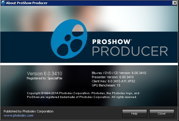 proshow gold 5 free download full version with key