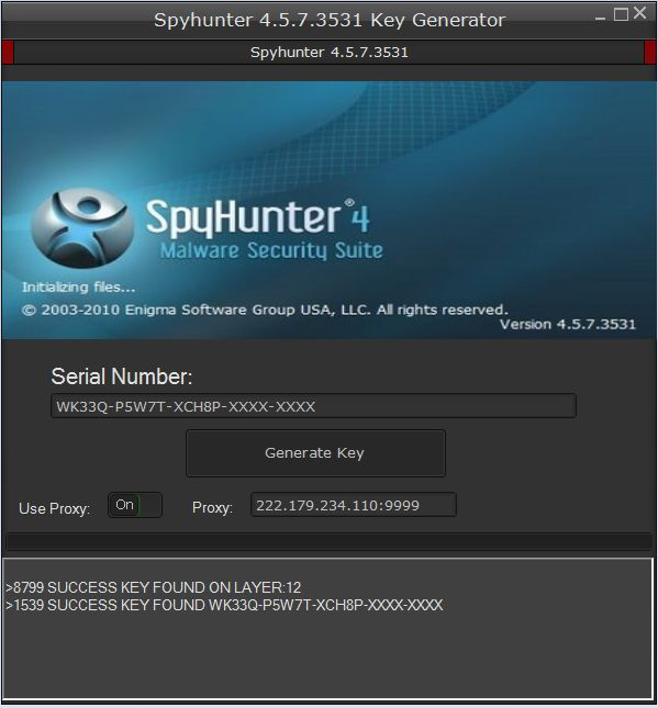 SpyHunter 4 License Keygen