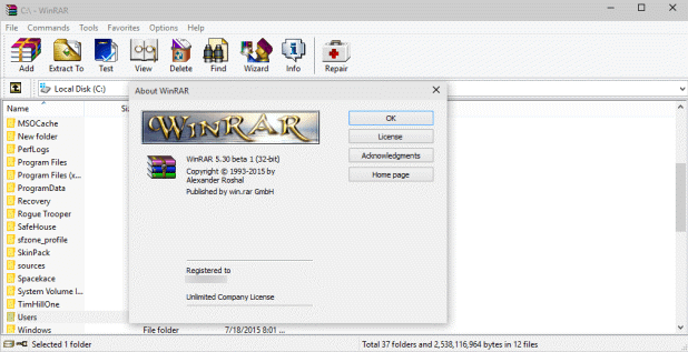 winrar with crack download free
